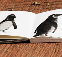 Penguins on Paper Sticker