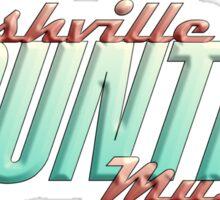 Nashville City Country Music    Sticker