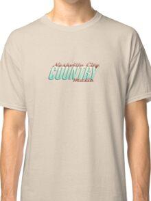 Nashville City Country Music    Classic T-Shirt