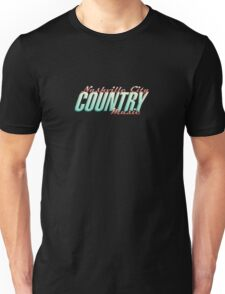 Nashville City Country Music    Unisex T-Shirt
