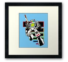 Gamebot Retro Framed Print