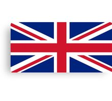 United Kingdom flag Canvas Print