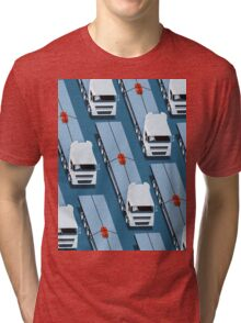 Tiny Delivery Tri-blend T-Shirt