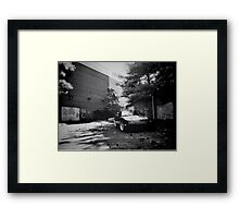 Black and white mx-5 Framed Print