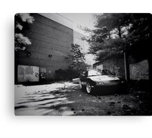 Black and white mx-5 Canvas Print