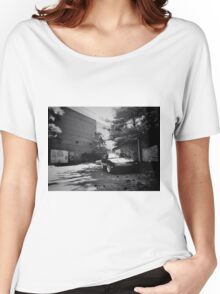 Black and white mx-5 Women's Relaxed Fit T-Shirt