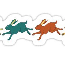 Multiply Like Rabbits Sticker