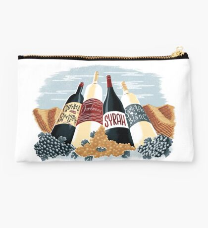 Wine, glorious wine! Studio Pouch