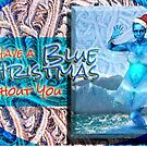 Blue Christmas by GolemAura