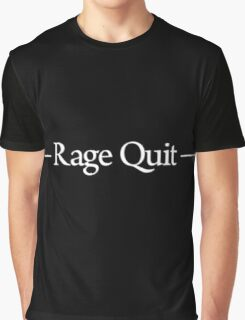 Rage Quit  Graphic T-Shirt