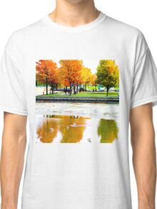 Upside Down Autumn Classic T-Shirt