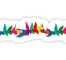 A Colorful Flight of Fancy Sticker