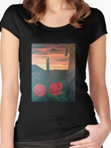 Dark Tower Women's Fitted Scoop T-Shirt