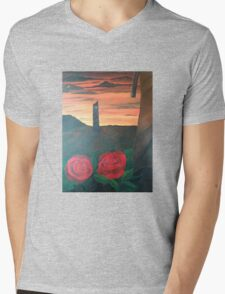 Dark Tower Mens V-Neck T-Shirt