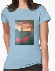 Dark Tower Womens Fitted T-Shirt
