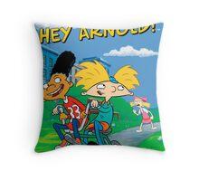 heyarnold Throw Pillow