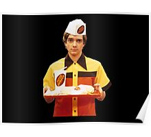 Eric Forman Fatso Burger Employee Poster