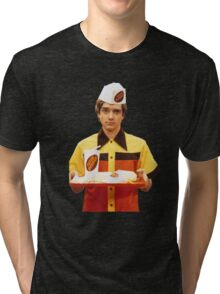 Eric Forman Fatso Burger Employee Tri-blend T-Shirt