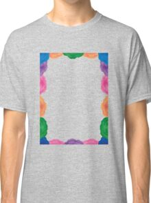 Flowery Frame Classic T-Shirt