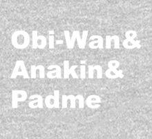 The Prequel Trio One Piece - Long Sleeve