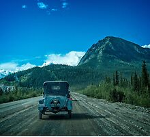 Model T On The Alaska HIghway by Yukondick