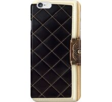 Chanel Black Quilited iPhone Case/Skin