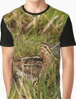 Common Snipe Graphic T-Shirt
