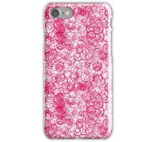 Pink snail iPhone Case/Skin