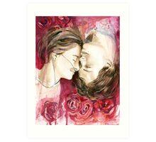 Hazel and Augustus Art Print