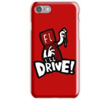 Flash will drive! iPhone Case/Skin
