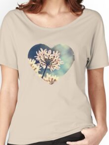 Queen Annes Lace flowers Women's Relaxed Fit T-Shirt