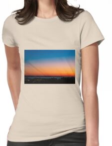 Sunrise ... Womens Fitted T-Shirt