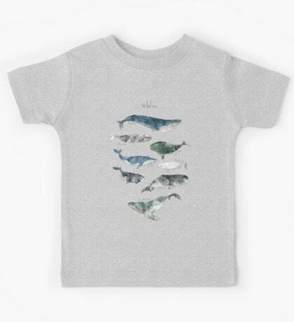 Whales Kids Tee