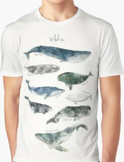 Whales Graphic T-Shirt
