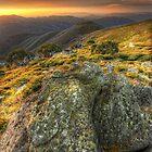 Dusk, Mount Spion Kopje by Kevin McGennan