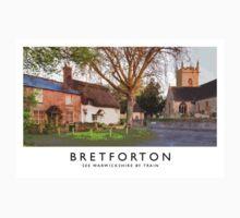 Bretforton (Railway Poster) Kids Tee