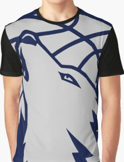 Minnesota timberwolves grey Graphic T-Shirt