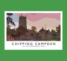 Chipping Campden (Railway Poster) Baby Tee