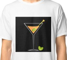Cocktail and Olive Classic T-Shirt