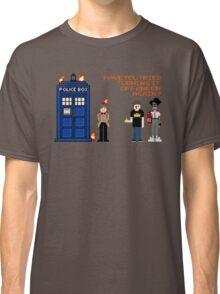 Doctor Who Calls IT Crowd  Classic T-Shirt