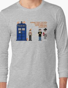 Doctor Who Calls IT Crowd  Long Sleeve T-Shirt