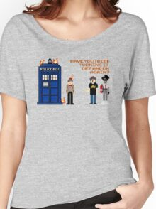 Doctor Who Calls IT Crowd  Women's Relaxed Fit T-Shirt