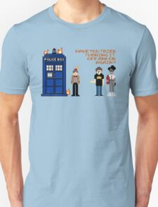 Doctor Who Calls IT Crowd  T-Shirt