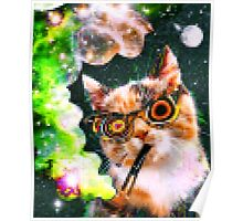 Trippy Cat Poster