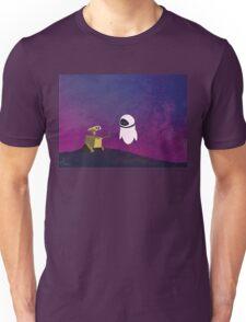 Wall-e minimal pop art design Unisex T-Shirt