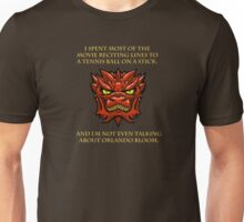 Smaug Quotes-Colbert Report- Orlando Bloom Unisex T-Shirt