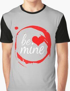 "Cute Modern ""Be Mine"" Valentine Graphic T-Shirt"