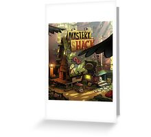 Mystery shack Greeting Card