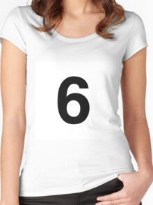 6ix Women's Fitted Scoop T-Shirt