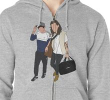 Back Home With You Zipped Hoodie